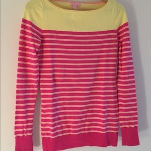Lilly Pulitzer Bright Crewneck Sweater Size S